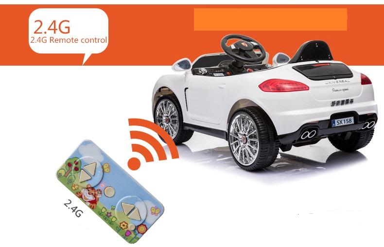 xe ô tô điện trẻ em SX-158 ĐKTX