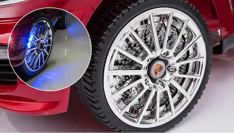 xe ô tô điện trẻ em SX-158 bánh xe- đènLED
