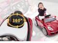xe ô tô điện trẻ em SX-158 bé gái