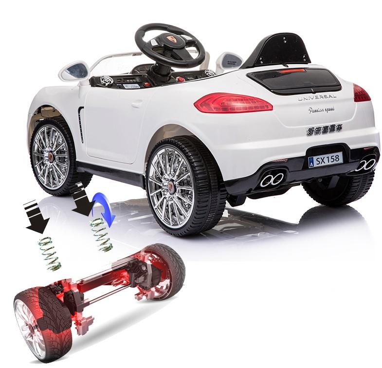 xe ô tô điện trẻ em SX-158 giảm sóc