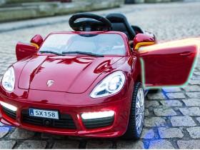 xe ô tô điện trẻ em SX-158 mở cửa