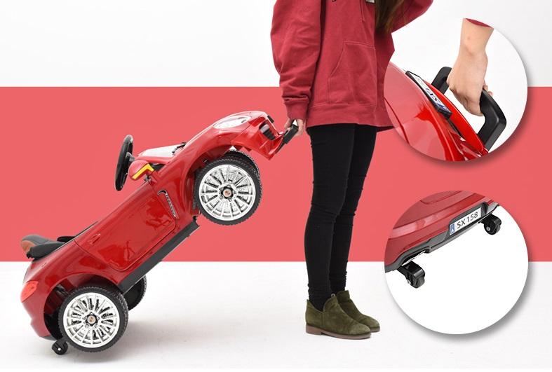 xe ô tô điện trẻ em SX-158 tay kéo