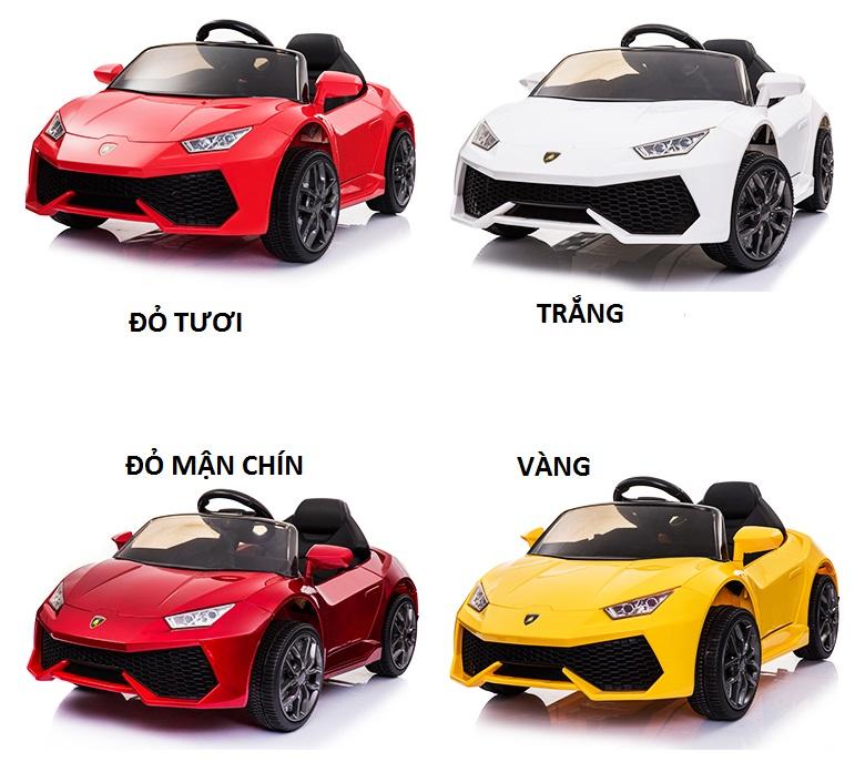xe ô tô điện trẻ em WXE-888 4 màu
