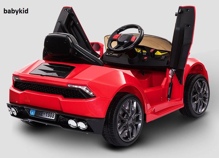 xe ô tô điện trẻ em WXE-888 cửa mở