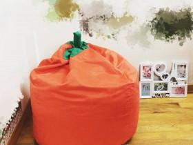 Ghế lười hạt xốp hình quả cà chua cam GL L113 (2)