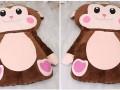 Đệm thú bông hình chú Khỉ NTB 208 (2)