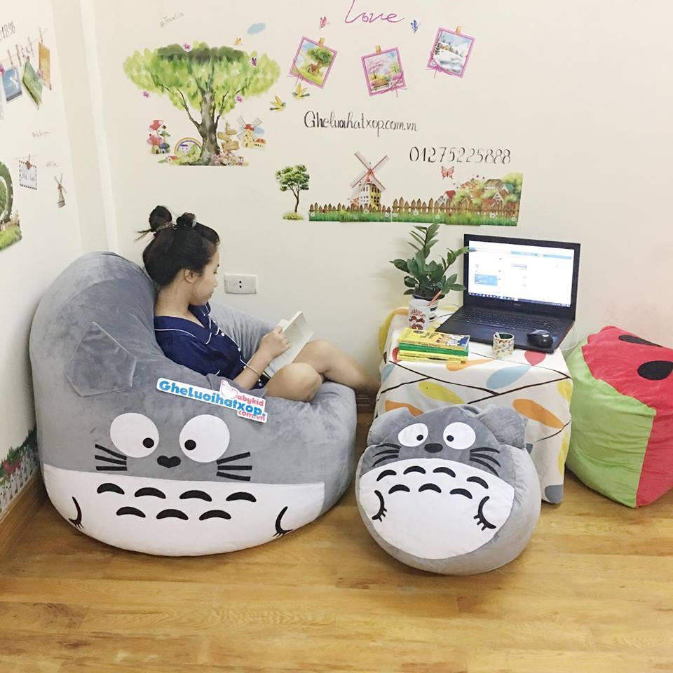 Set ghế lười hình thú Totoro