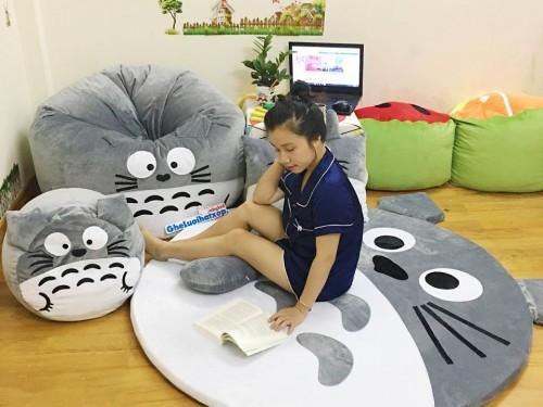 Set ghế lười hình thú Totoro GL 117 (6)