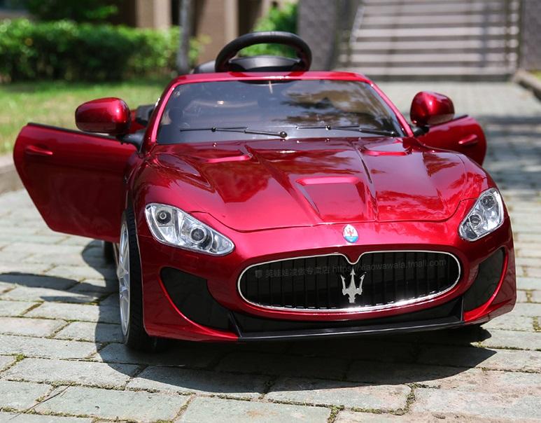 xe ô tô điện trẻ em GT460MC đỏ 2