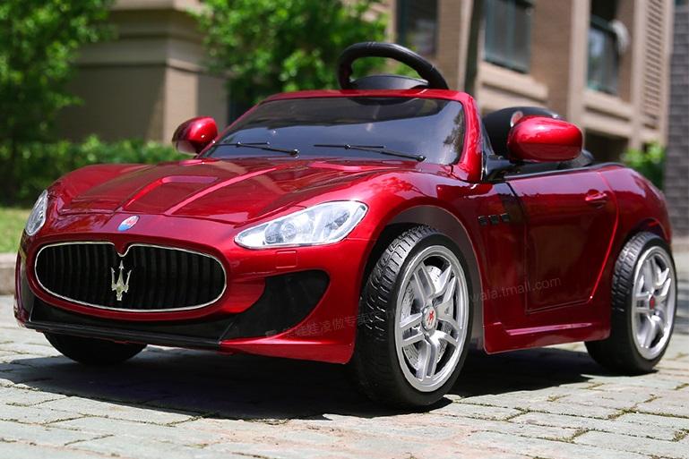 xe ô tô điện trẻ em GT460MC 5 màu đỏ