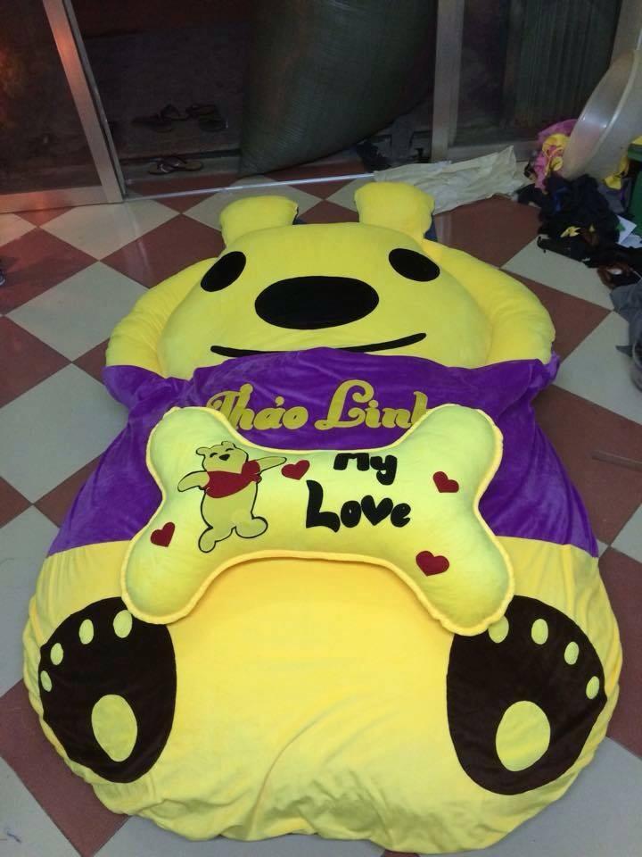 Đệm thú nhồi bông hình Gấu Teddy NTB 213