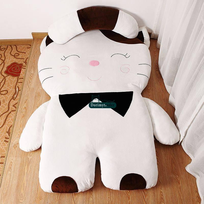 Đệm thú nhồi bông hình Mèo trắng NTB 216