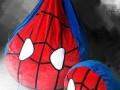 Ghế lười dáng lê hình Spider Man chất nhung GL L127 (4)