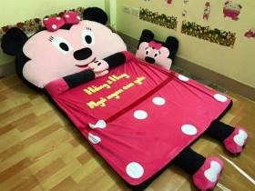 Nệm hình thú cao cấp ruột cao su non hình Minnie (2)