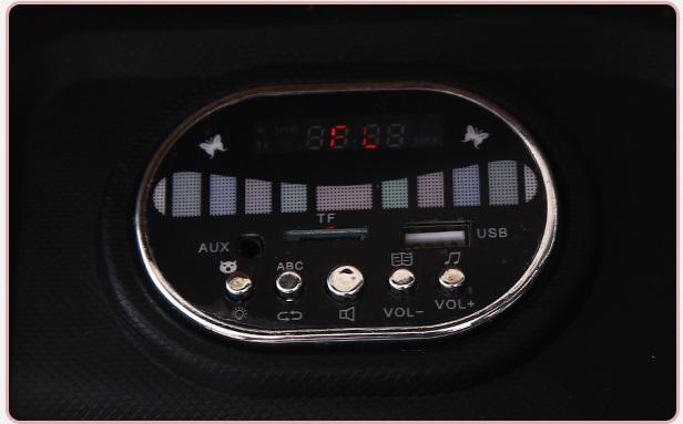 xe ô tô điện trẻ em KP- 6699 màn hình