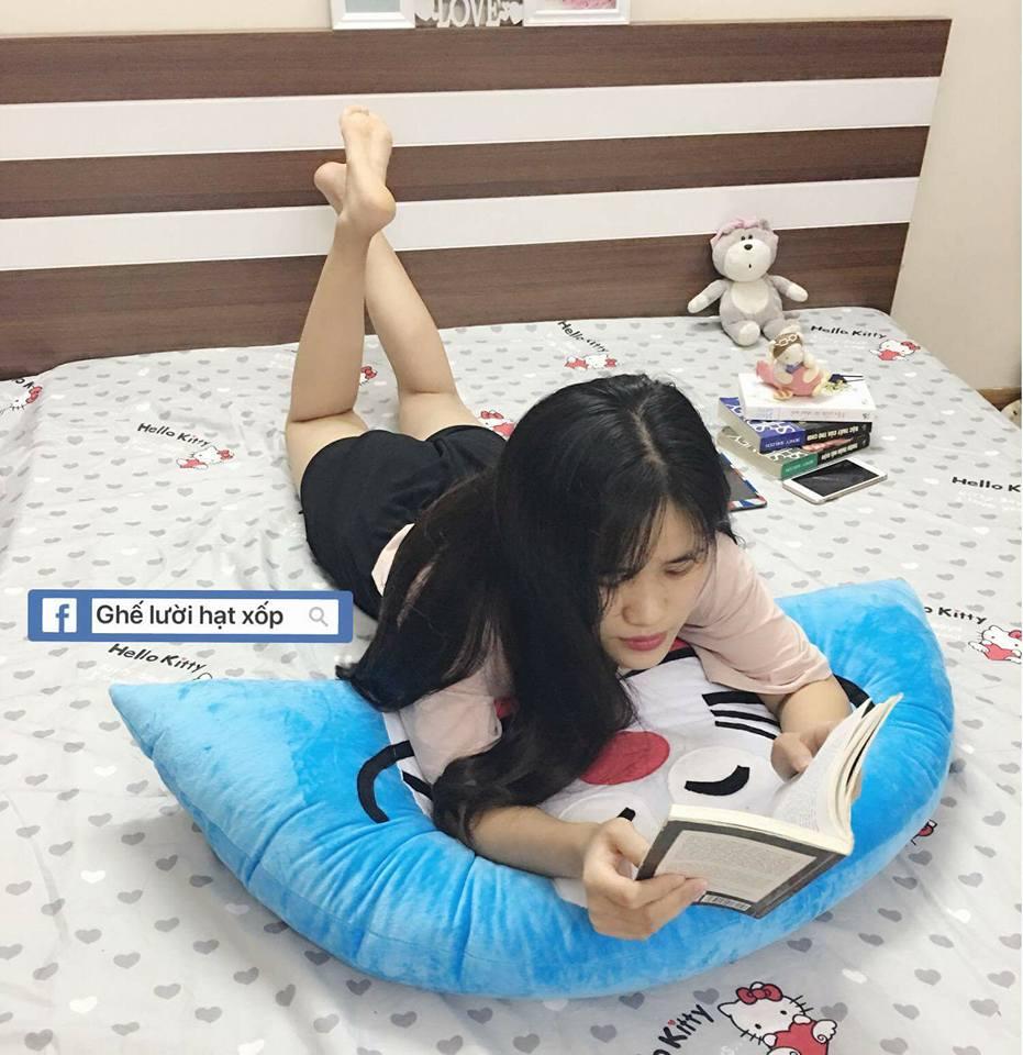 Gối tựa đầu giường hình Doreamon GĐ012