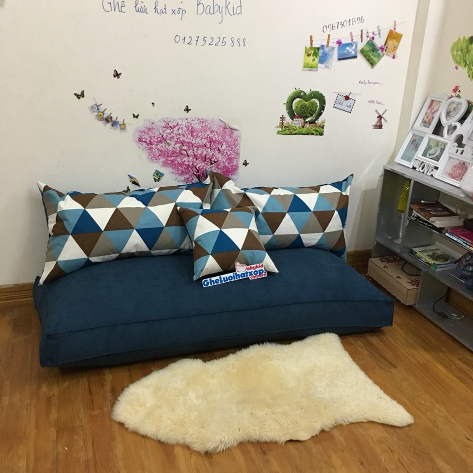Ghế lười Sofa hình chữ nhật cực kỳ sáng tạo và đẹp mê ly luôn!