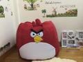 Ghế lười hạt xốp chất da lộn hình Angry Bird GL L136 (3)