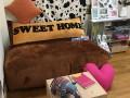 Set ghế hạt xốp sofa hình chữ nhật chất nhung màu nâu SF012 (8)