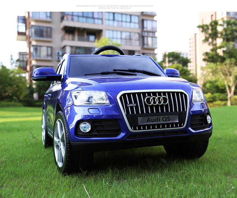 xe ô tô điện trẻ em Audi Q5 10