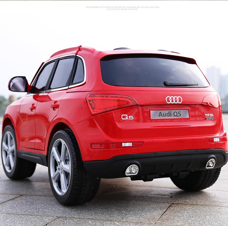 xe ô tô điện trẻ em Audi Q5 9