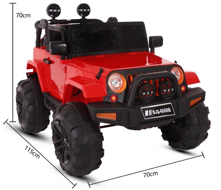 xe ô tô điện trẻ em BJQ-6688 7