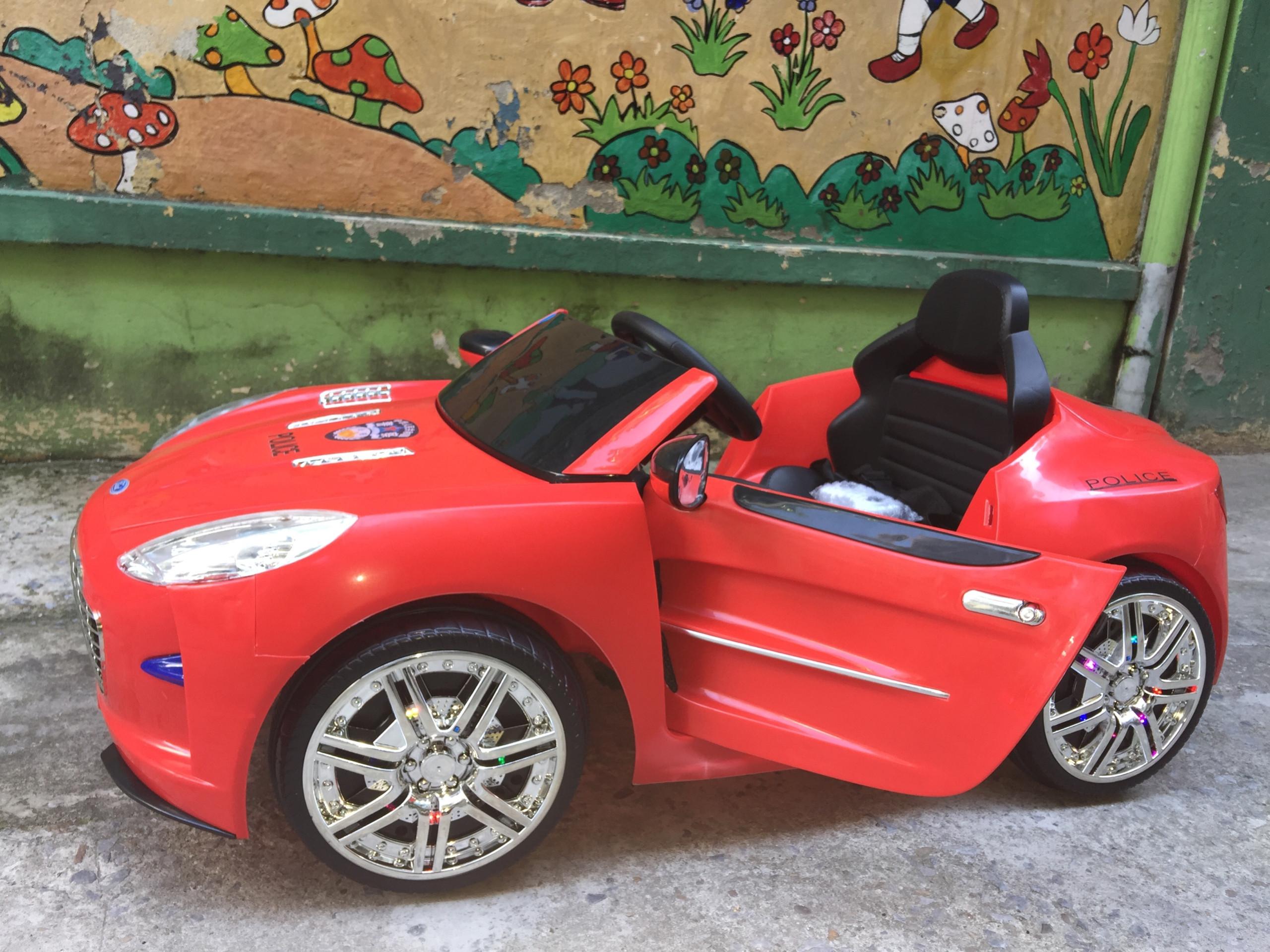 xe ô tô điện trẻ em police 999 8