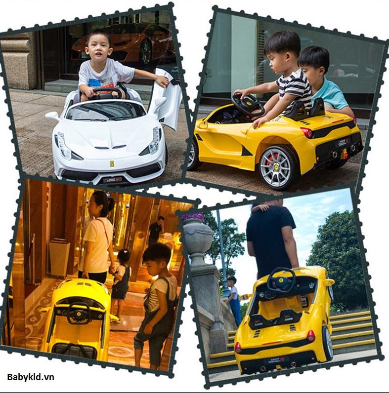 Cách sử dụng xe ô tô điện trẻ em hợp lý 4