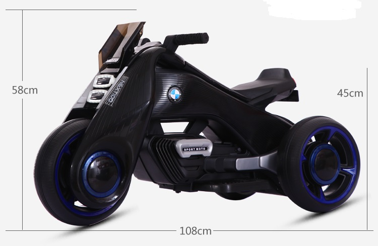 xe máy điiện trẻ em bdq-6188 25