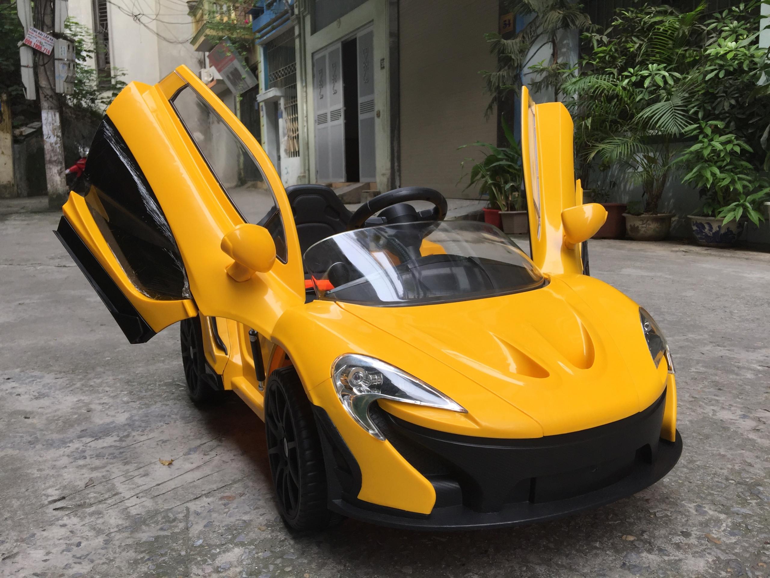 xe ô tô điện trẻ em Mclaren P1 9