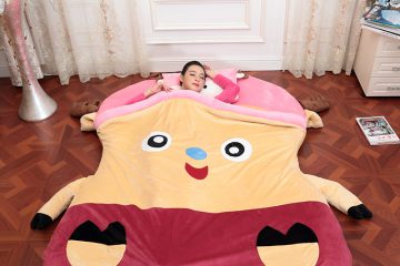 Đệm thú bông Babykid – Nâng tầm phong cách phòng ngủ ngày đông