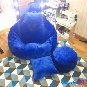 Goi-xop-dang-le-chat-nhung-gau-brown-xanh-GL L195