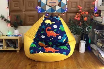 Quà tặng trung thu mới lạ – độc đáo cho bé yêu với ghế lười hạt xốp Babykid