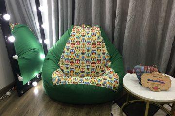 5 mẫu ghế lười hạt xốp hoạ tiết tô điểm cho căn nhà bạn